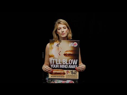 Spot akcji #WomenNotObjects przeciwwstawiającej się seksizmowi w reklamach