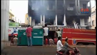 Massive Blaze In Hardware Shop At Krishna Nagar | Hyderabad | CVR NEWS - CVRNEWSOFFICIAL
