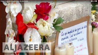 France's Normandy community mourns ISIL church attack - ALJAZEERAENGLISH