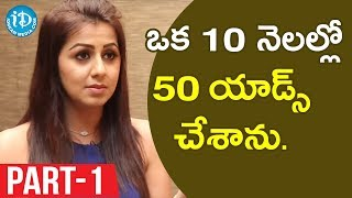Actress Nikki Galrani Exclusive Interview Part #1 || Talking Movies With iDream - IDREAMMOVIES