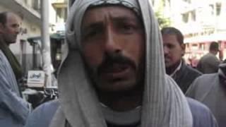 شاهد.. عمال أوقاف الإسكندرية من أمام قسم المنشية: لاقولنا حل مع الوزارة قبل ما نشحت