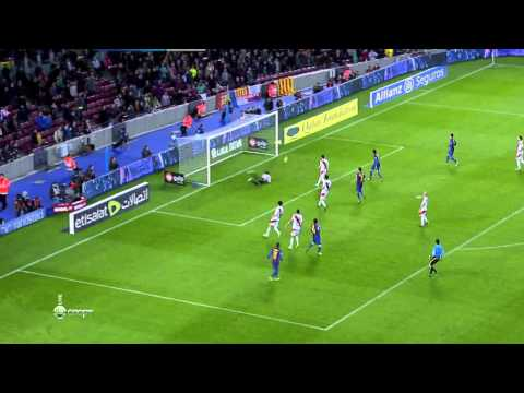 Messi beautiful Skill against Rayo Vallecano Simply Amazing 