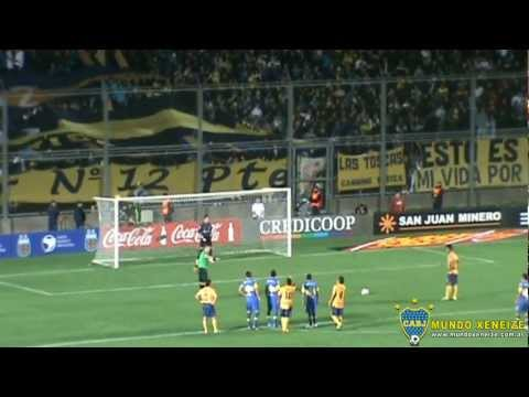 Penal  atajado por Sosa /Boca - Rosario Central /Copa Argentina 2012