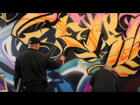 ArtPrimo Presents Hex TGO and Zerk TKO piecing with Molotow Premium Spray Paint.