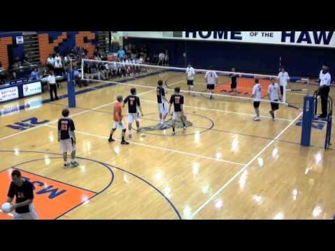 OPRF v. NN 2/3 - 2011 IHSA Varsity Boys Volleyball Quarter Final