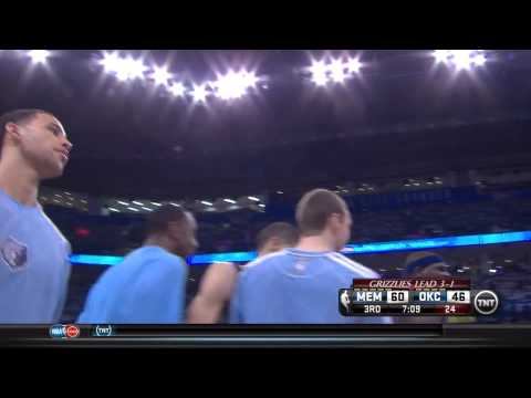Tayshaun Prince Dunks On Thunder In Game 5