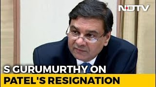"""Surprised"", Says RBI Independent Director On Urjit Patel's Resignation - NDTV"