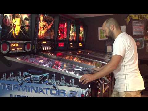 Terminator 2: Judgmente Day Restored Pinball