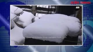 हिमाचल : उत्तराखंड में सर्दी ने आम जन जीवन किया प्रभावित