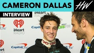 Cameron Dallas Reveals Who Inspired 'WHIMY' & His Secret BFF!! | Hollywire - HOLLYWIRETV