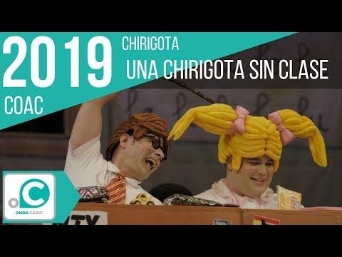 Sesión de Preliminares, la agrupación Una chirigota sin clase actúa hoy en la modalidad de Chirigotas.