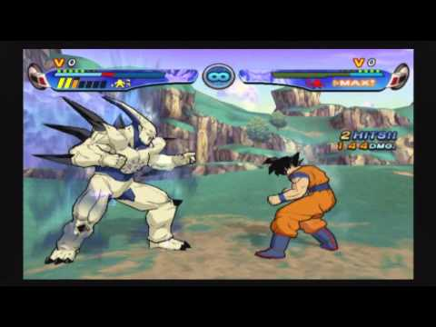Dragon Ball Z: Budokai 3 Super Saiyan 4 Goku vs Omega Shenron