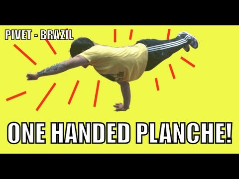 1 OUT OF 1 MILLION CAN DO THIS!!! (ONE HAND PLANCHE)