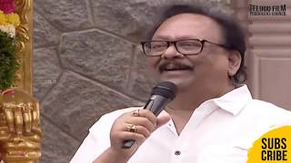 Krishnam Raju Speech at Vijaya Nirmala Statue Inaugraution | Naresh | TFPC - TFPC