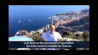 أمير موناكو يشارك في تحدي دلو الثلج