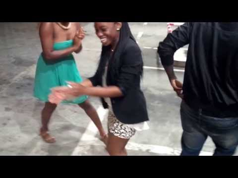 Lego new dance Summer 2013 Libreville after chilling