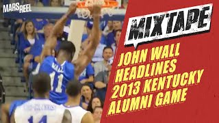 More Of John Wall Killing UK Alumni Game