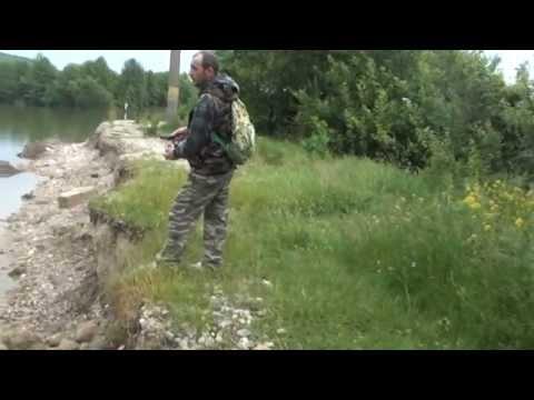 Pescuit oblete  la muste artificiale baraj Bascov 2014