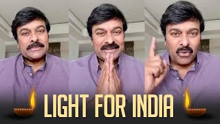 Megastar Chiranjeevi Request Everyone To Follow Light For India - TFPC