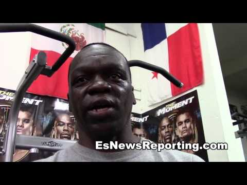 kevin newman reminds jeff maywether of Floyd and Roy Jones Jr - EsNews