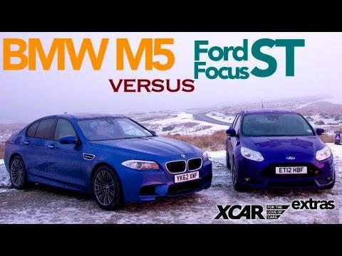 BMW M5 versus Ford Focus ST - XCAR