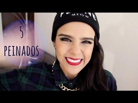 ¡5 PEINADOS MUY FÁCILES!   -DE LUNES A VIERNES-   ♥Yuya