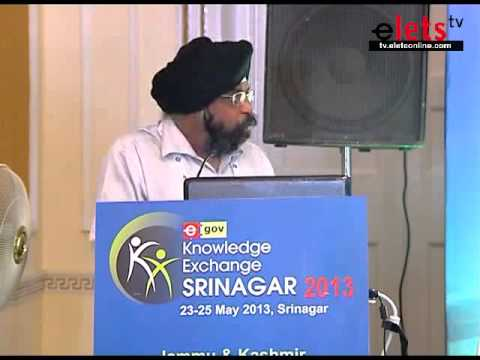 eGove KE Srinagar 2013  - ICT for Inclusive Education -  Indrapal Singh, CEO, Aman Technologies