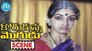 Korukunna Mogudu Movie Scenes - Jayasudha Returns To Her Home || Shoban Babu || Nutan Prasad - IDREAMMOVIES