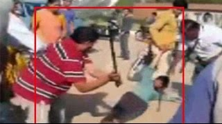 Caught on camera: Gujarat law-maker thrashes man reportedly for being drunk - NDTVINDIA
