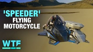 You can buy this 'Speeder' flying motorcycle now | What the Future - CNETTV