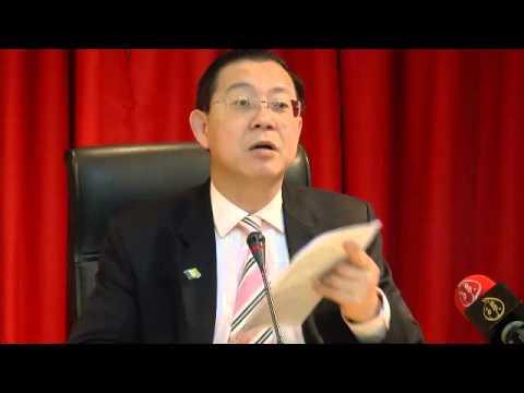CM Lim mengalu-alukan jika tiada GST terhadap jambatan