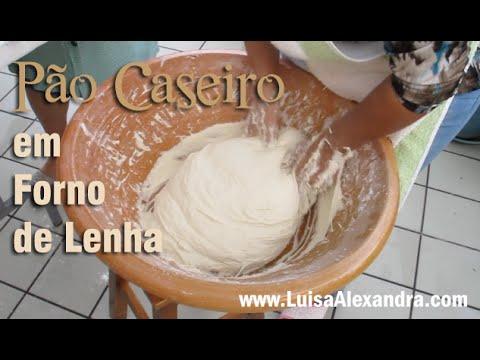 Pão Caseiro em Forno de Lenha • www.luisaalexandra.com