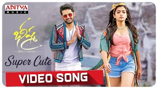 Super Cute Video Song | Bheeshma Movie | Nithiin, Rashmika| Venky Kudumula | Mahati Swara Sagar - ADITYAMUSIC