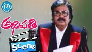Adhipathi Movie Scenes - Nagarjuna Defencing Mohan Babu Father || Preeti Jhangiani - IDREAMMOVIES