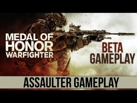 Medal of Honor : Warfighter Beta Assaulter Gameplay