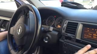 Opel Vetra C-разборка панели приборов