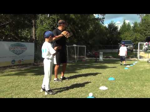 Learning How to Throw the Baseball Correctly (7 & 8 year olds)
