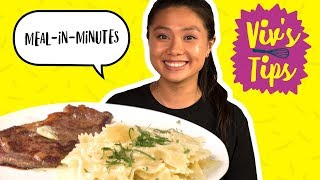 How to Speed Up Meals (3 Genius Cooking Hacks) | VIV'S TIPS - FOODNETWORKTV