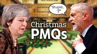 May & Corbyn battle it out in last PMQs before Christmas - THESUNNEWSPAPER