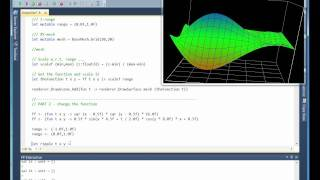 Fsharp 3D visualization demo