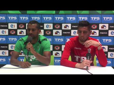 Conferencia de prensa César Córtes y Gabriel Castellón 13/12/2017