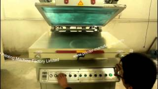 [Tilted-arm vacuum table screen printer,???????? , Do sitodru...]