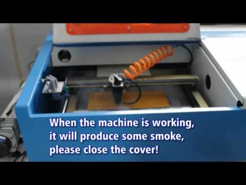 DCKIII CO2 Multifunction Laser Engraving Cutting Machine with Clamp
