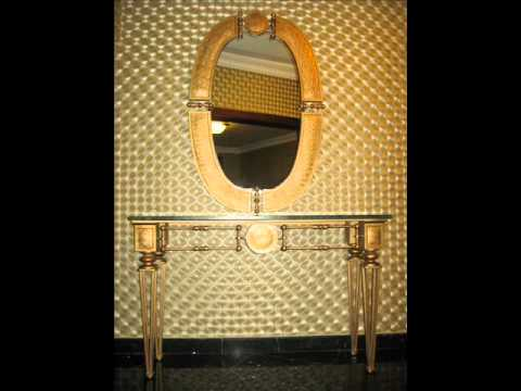... Ferforje Mobilya Dekorasyon - Ferforje Dresuar ve Ayna Modelleri