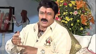 Balakrishna about Lion Movie Story - TFPC