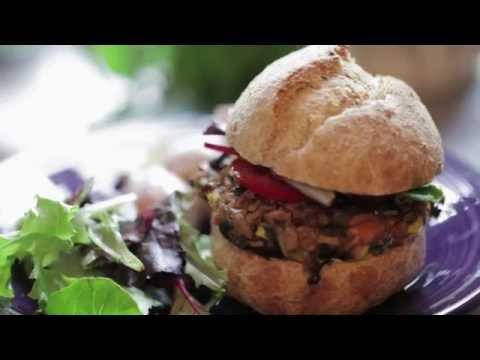 DIY BBQ: Homemade Veggie Burgers & Potato Salad