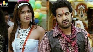 Shakti Movie Scenes   Ileana fight with Jr NTR   Telugu Movie Scenes   Sri Balaji Video - SRIBALAJIMOVIES