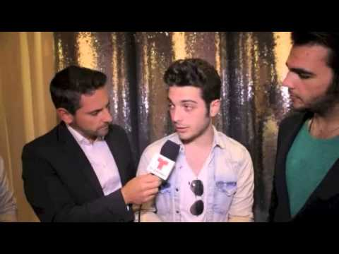 Il Volo interview to Telemundo - Latin Billboards Music Awards 2014