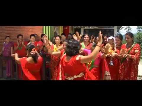 बाबा सम्झेर धेरै रोइछु म - New Nepali Teej Song(2071/2014)