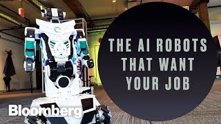 The AI Robots That Want Your Job - BLOOMBERG